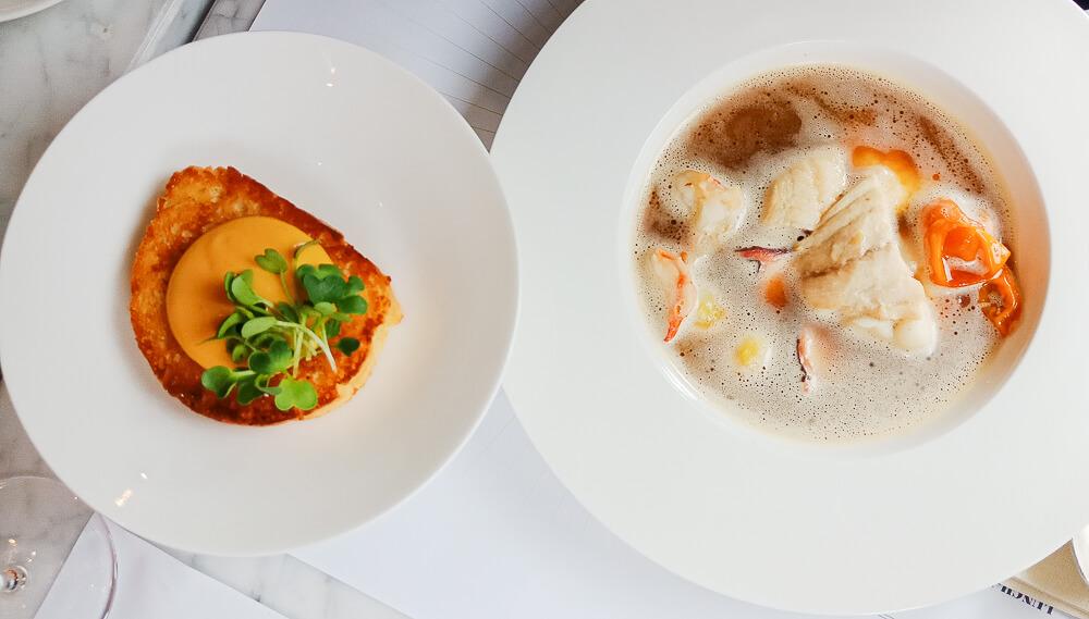 Colette by Tim Raue - feine Fischsuppe, typisch Französisch eben