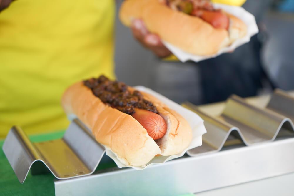 Food & Rum Festival Barbados - Food Truck Mashup Hot Dogs