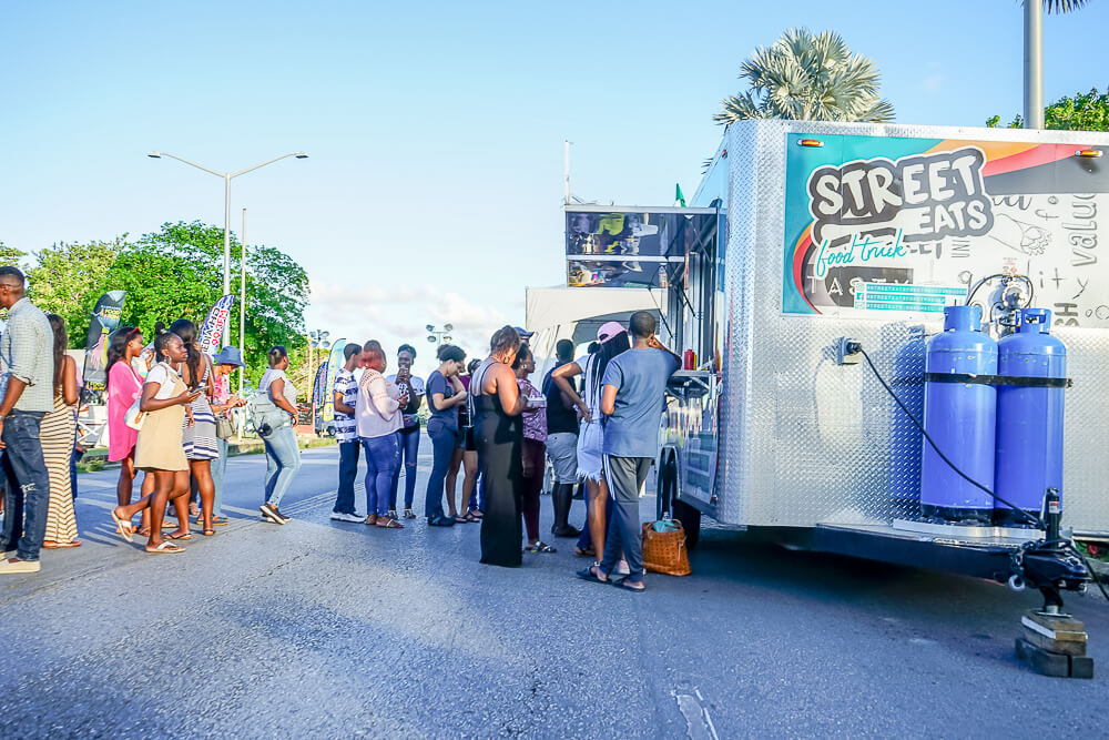 Food & Rum Festival Barbados - Food Truck Mashup Street Food vom Feinsten
