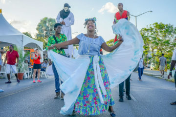 Food & Rum Festival Barbados - Food Truck Mashup - gute Unterhaltung