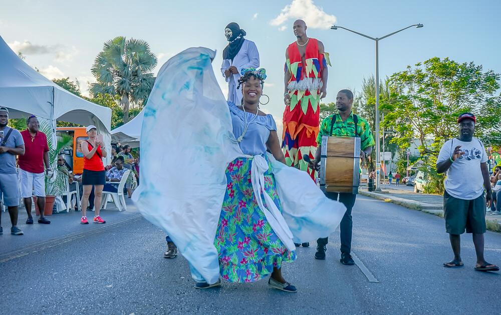 Food & Rum Festival Barbados - Food Truck Mashup - karibisches Flair