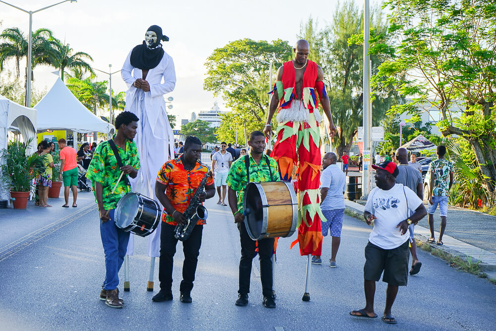 Food & Rum Festival Barbados - Food Truck Mashup - tolle Band