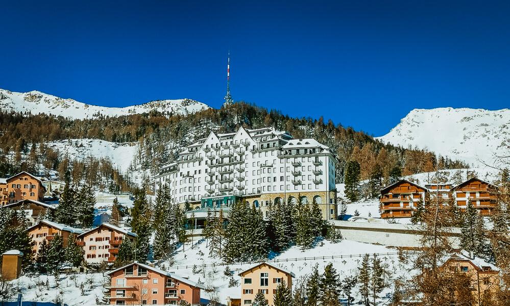 Carlton Hotel St. Moritz - St. Moritz' schönste Sonnenterrasse