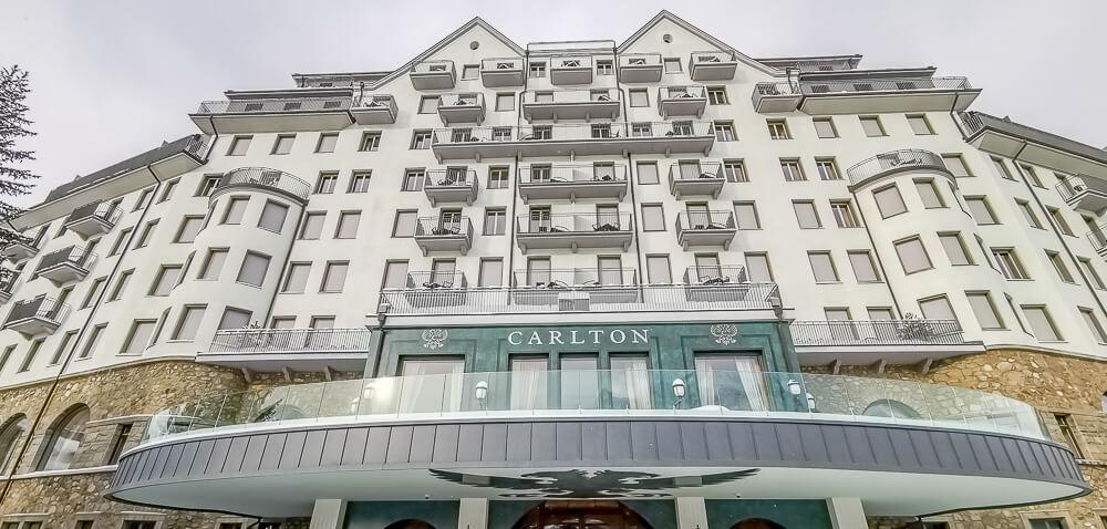 Carlton St. Moritz - Außenansicht
