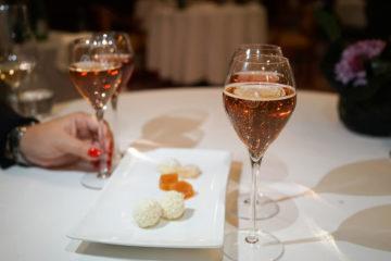Carlton St. Moritz - Romanoff Restaurant - Champagner zum Schluss