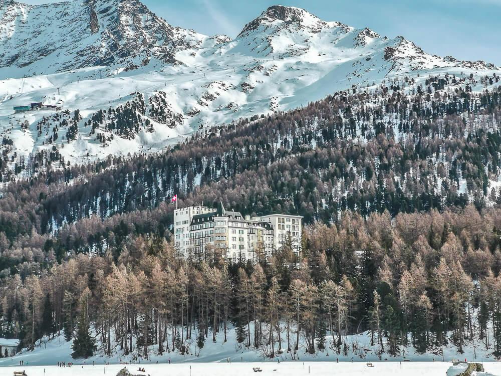 Hotel Waldhaus Sils im Winter