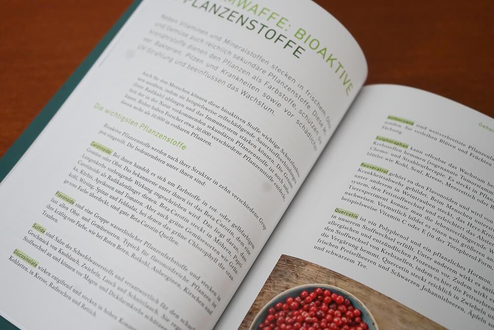 Essen ändert alles - bioaktive Pflanzenstoffe