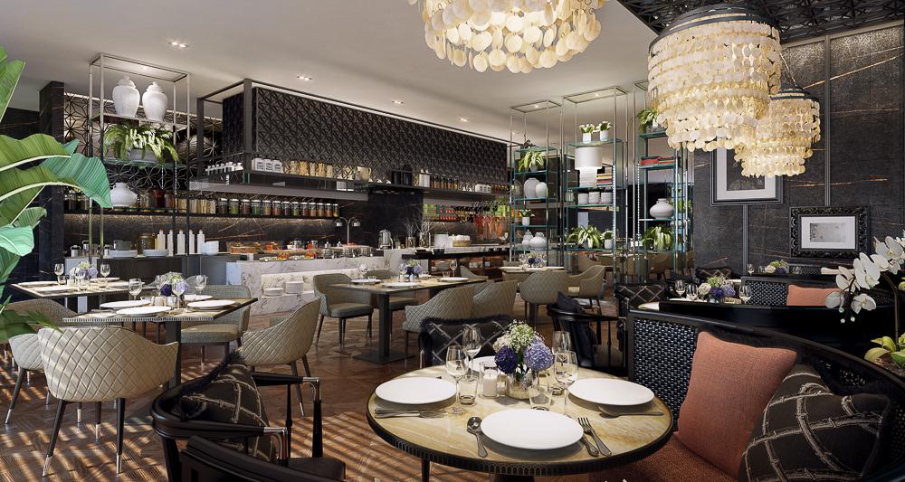 Sindhorn Kempinski Hotel Bangkok All day dining