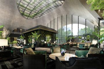 Sindhorn Kempinski Hotel Bangkok Lobby 2
