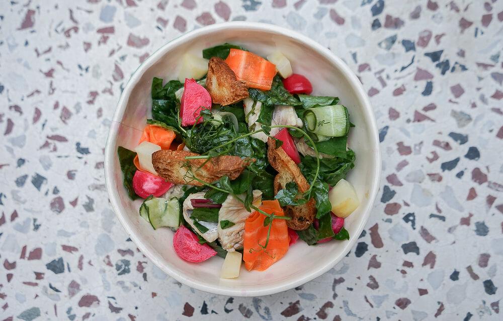 g.Vino Hotel & Restaurant Tiflis - feine aromatische Salate