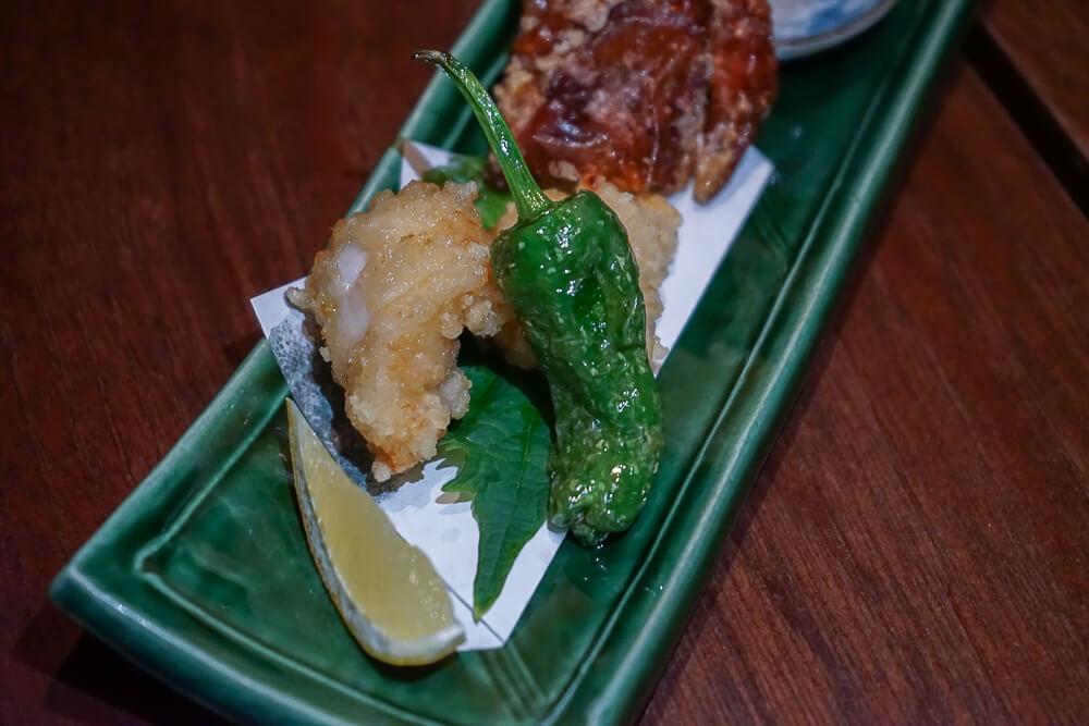 Zenkichi Restaurant Berlin - Krabbe und Fisch