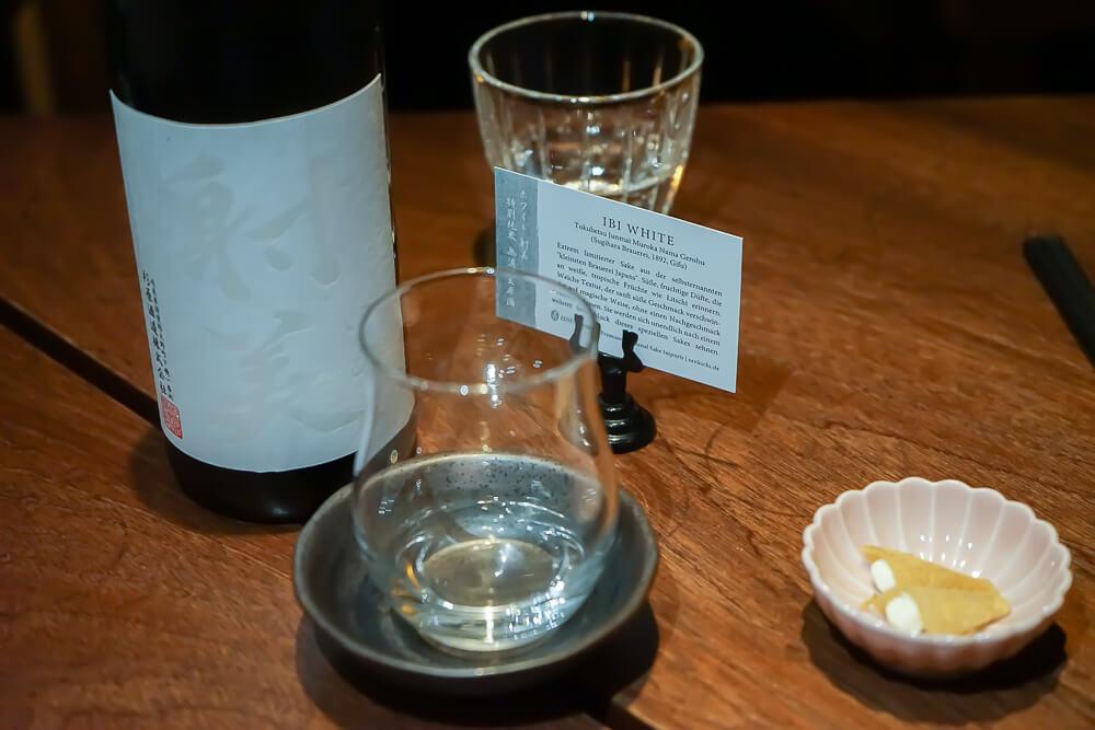 Zenkichi Restaurant Berlin - Sake mit Beschreibung