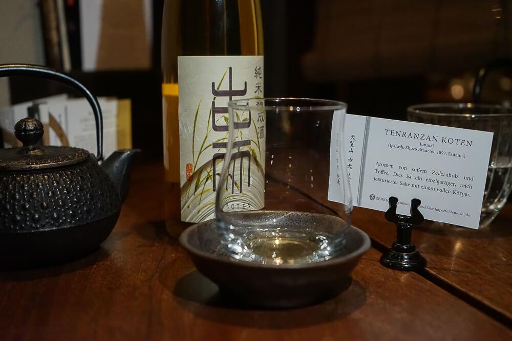 Zenkichi Restaurant Berlin - Sake und Tee