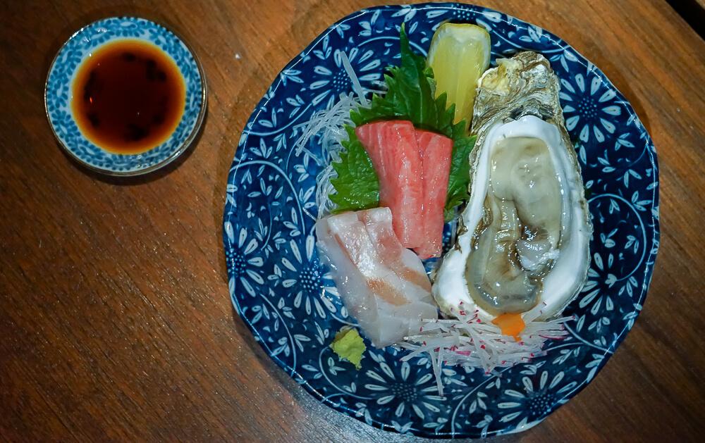 Zenkichi Restaurant Berlin - Sashimi und Auster