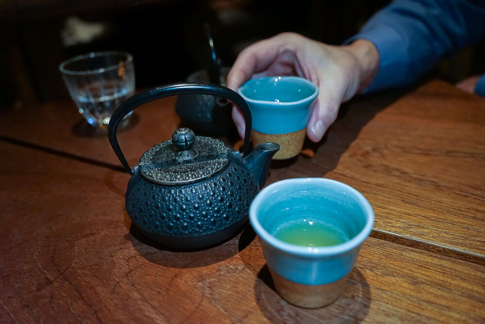 Zenkichi Restaurant Berlin - Tee zum Abschluss