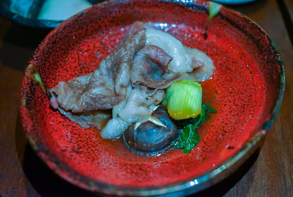 Zenkichi Restaurant Berlin - fettiges aromatisches Beef