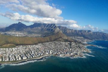 Kapstadt aus der Luft