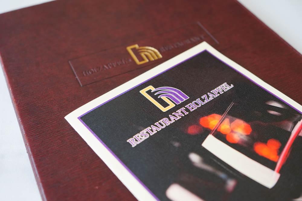 Restaurant Holzapfel - Speisenkarte