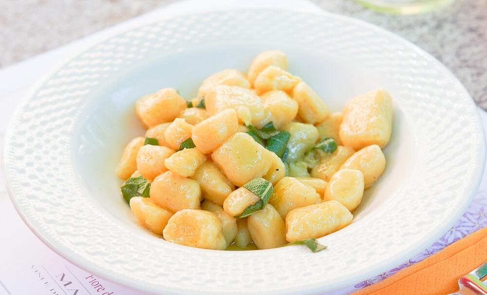 Butter Gnocci mit Salbei