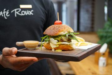 Cafe Roux, Noordhoek - Cheeseburger