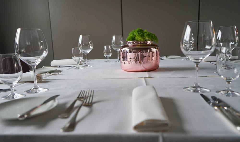Hotel & Gasthaus Krone - gute Gläser klare Linien