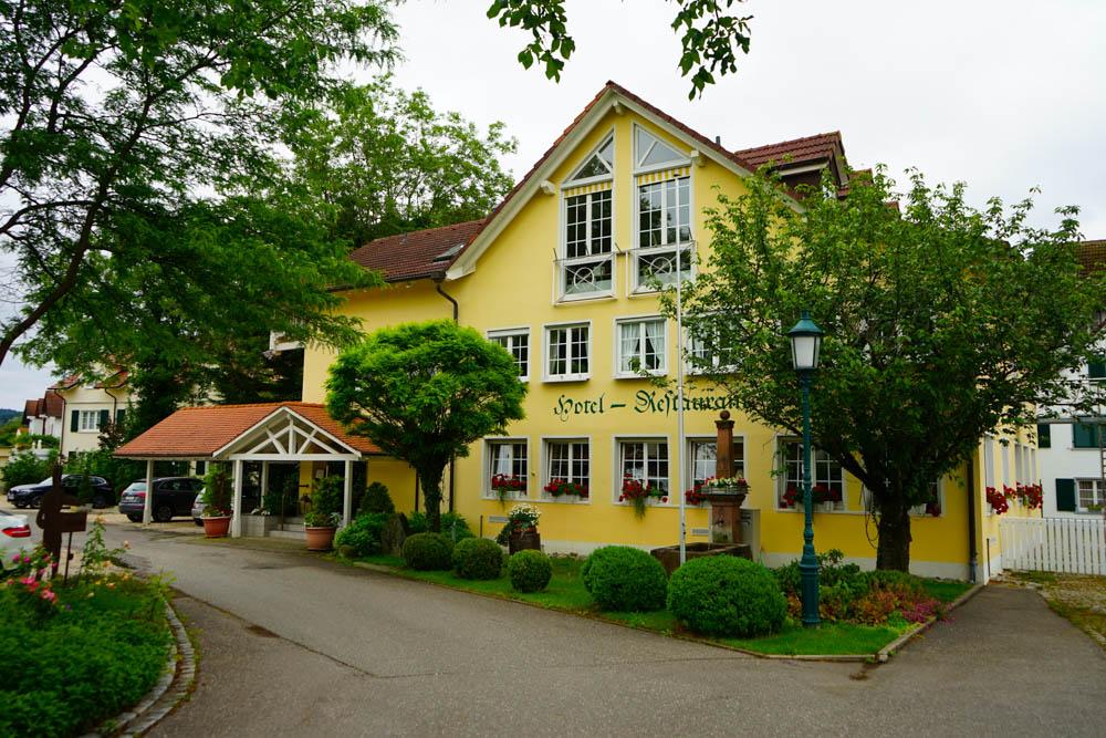 Hotel Restaurant Mühle in Binzen - Einfahrt