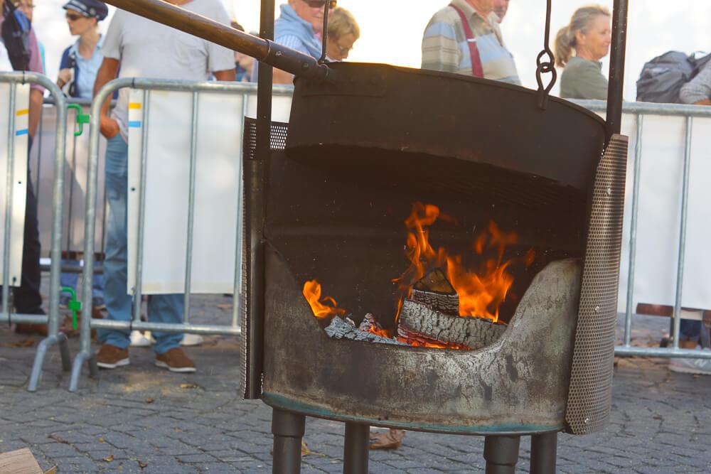 Kastanienfest in Ascona - Kastanienofen