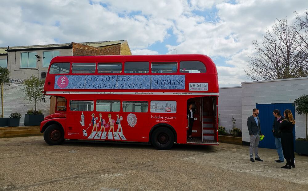 London Gin Bus Tour by Hayman`s Gin