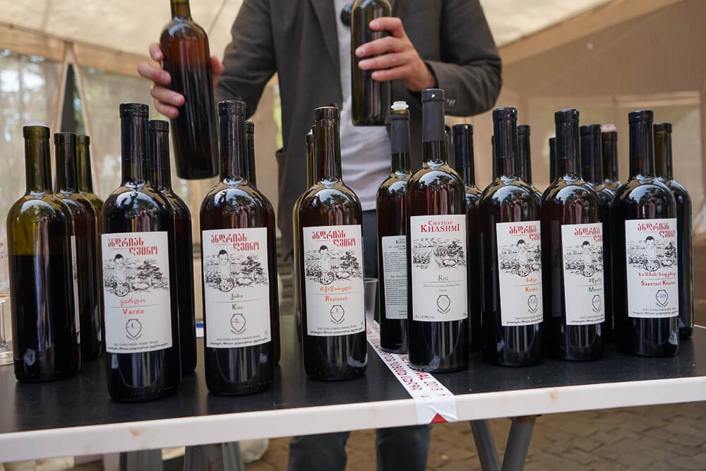 New Wine Festival in Tbilisi - Wein 5