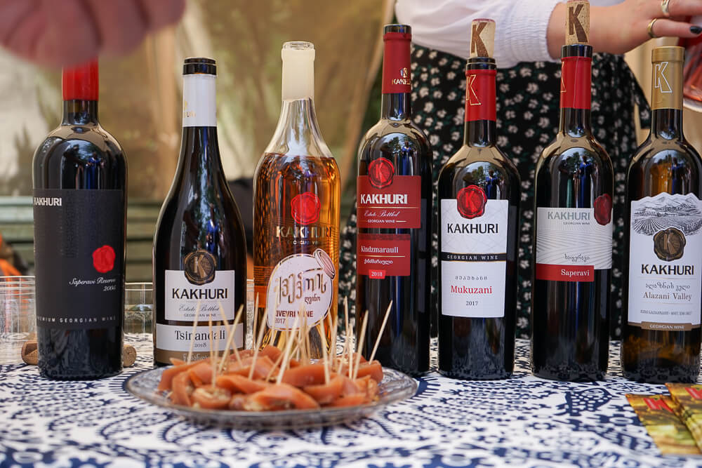 New Wine Festival in Tbilisi - Wein 7
