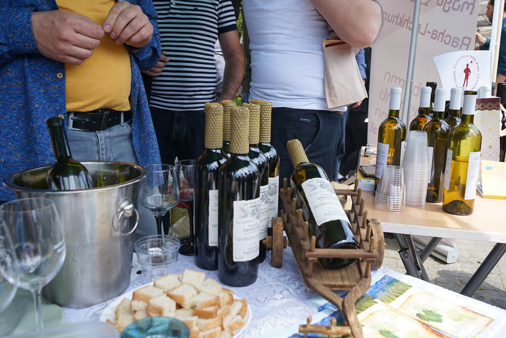 New Wine Festival in Tbilisi - ausgefallene Ideen rund um den Wein