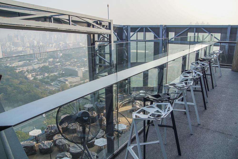 SO Sofitel Bangkok - Bar mit grandiosem Ausblick