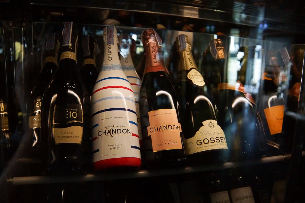 SO Sofitel Bangkok - Champagner Auswahl