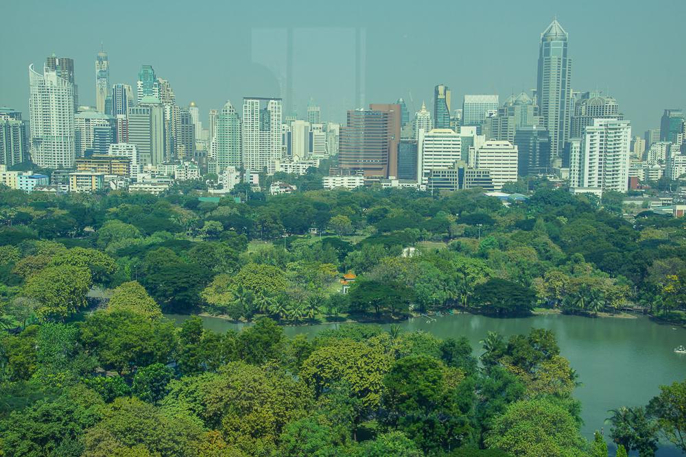 SO Sofitel Bangkok - Grandioser Ausblick über die Stadt