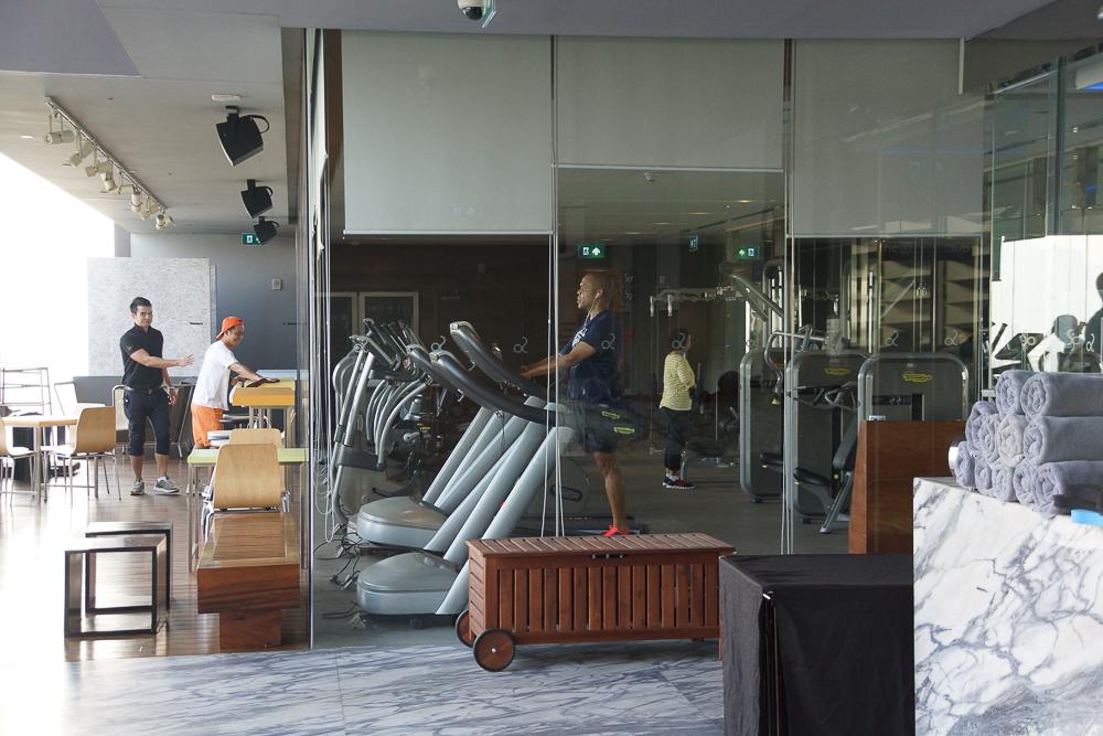 SO Sofitel Bangkok - Gym am Morgen