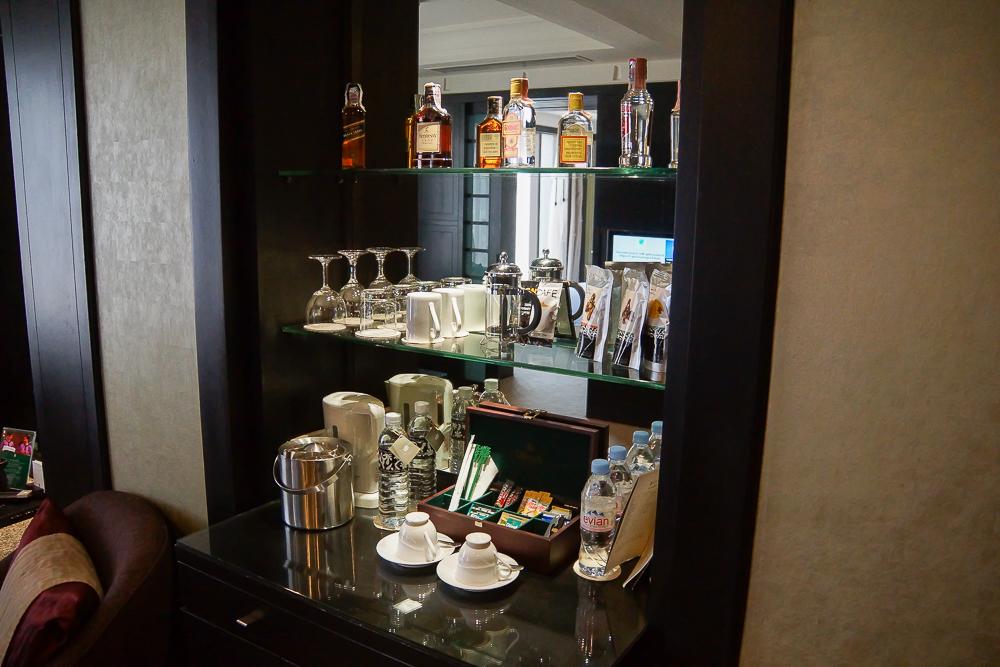 SO Sofitel Bangkok - grandiose Minibar