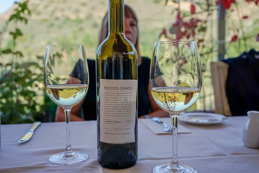 Casale Panayiotis, Zypern - Protos Oinos Weißwein