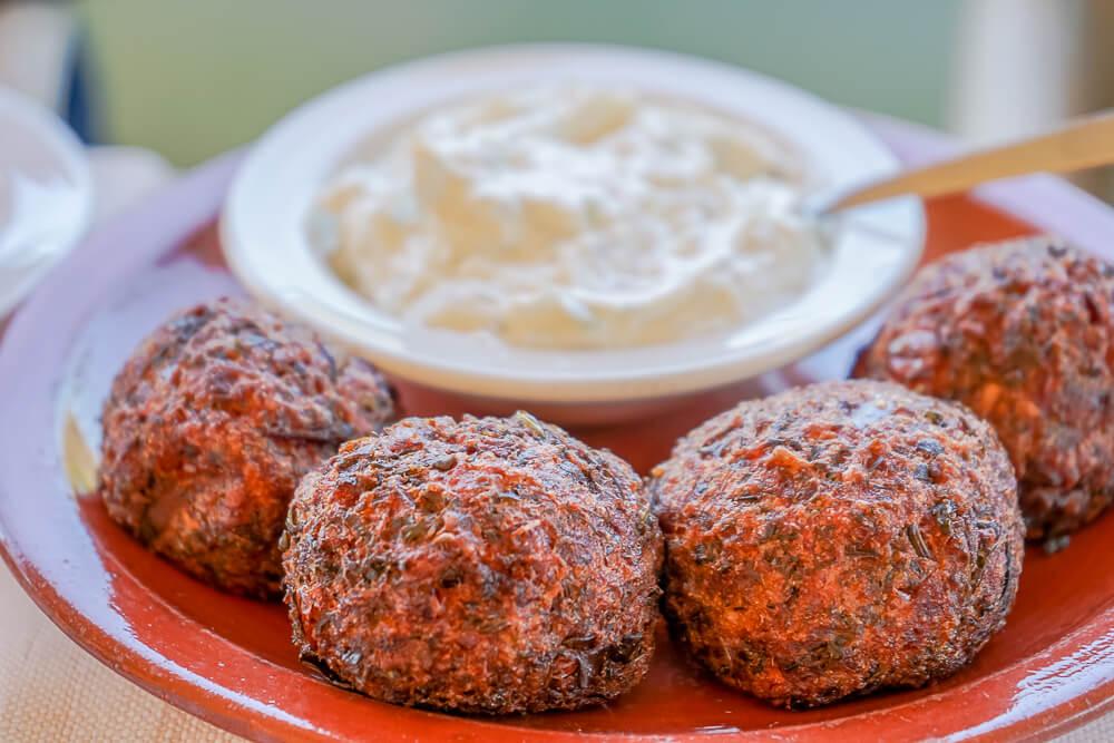 Casale Panayiotis, Zypern - fluffige Falafel