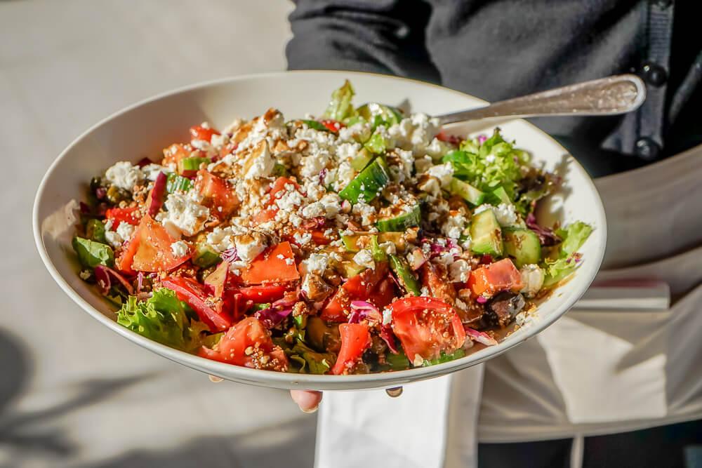 Casale Panayiotis, Zypern -grandiose frische Salate