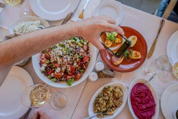Casale Panayiotis, Zypern - tolle Vorspeisen