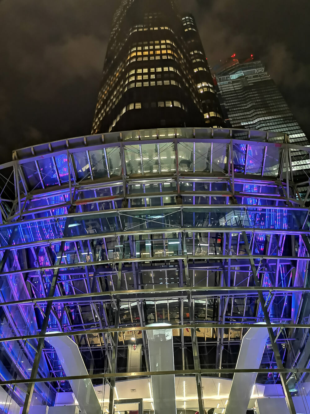 City Social Bar - City, London - Tower 42 in London bei Nacht