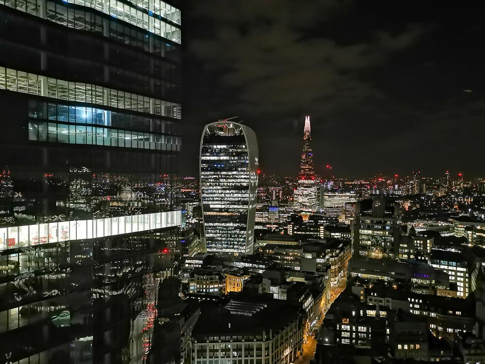City Social Bar - City, London - atemberaubende Aussicht auf Londons City