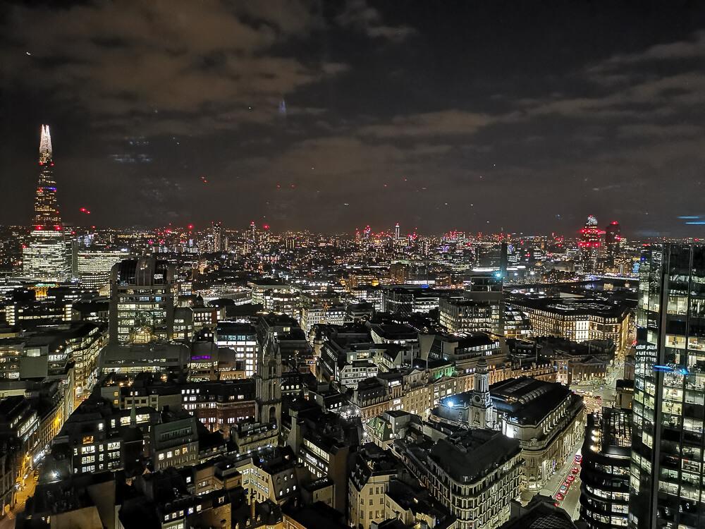City Social Bar - City, London - ein unbezahlbarer Blick über Londons City
