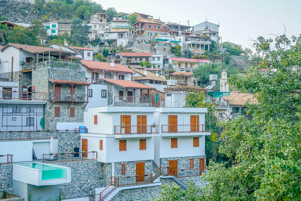 Das Dorf Kalopanayiotis