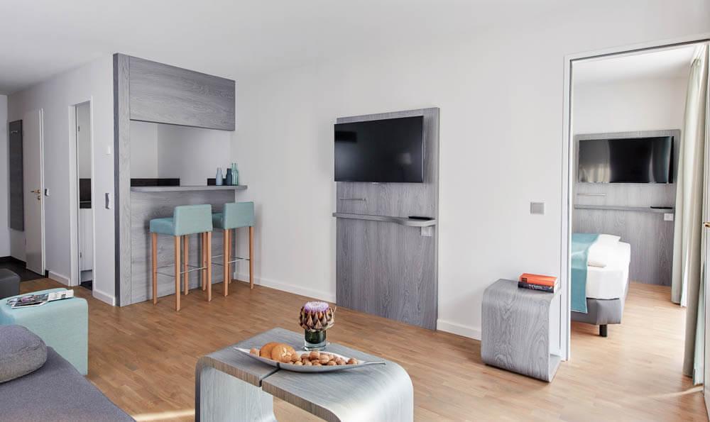 Living Hotel_Nürnberg_Apartment Superior Plus_09-021_©Living Hotels