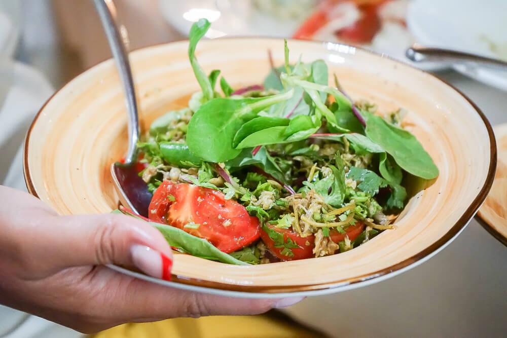 Mindal Café, St. Petersburg - tolle frische Salate