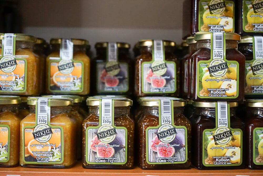 Nikis Sweets Zypern - Feigen, Orangen, Quitten Marmelade