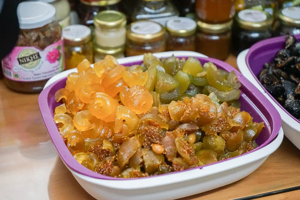 Nikis Sweets Zypern - kandierte Früchte