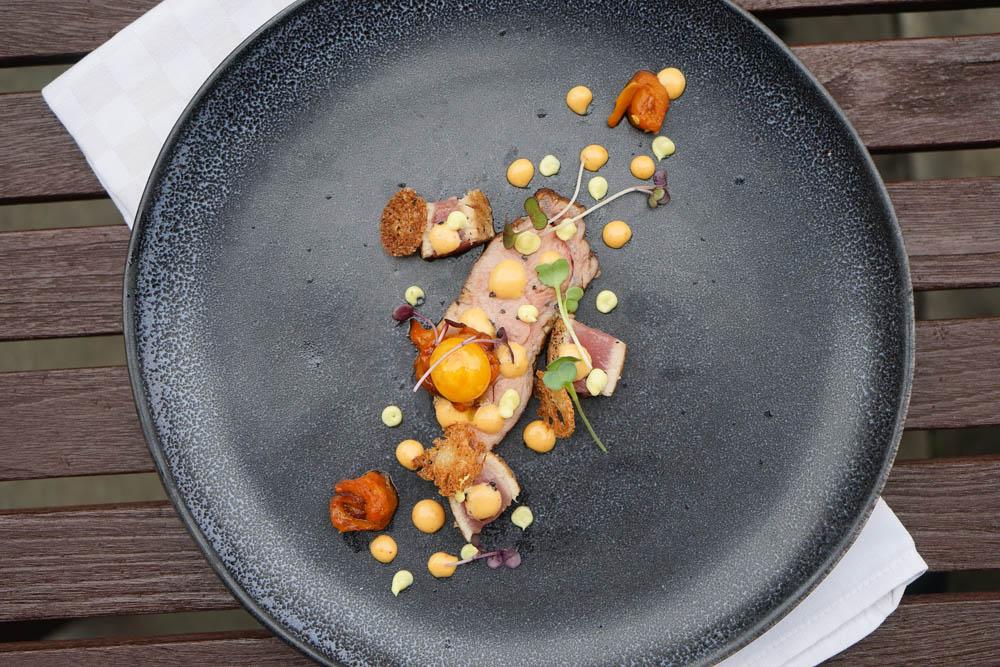 Restaurant Florhof, Zürich - Kalbsnierstück, Wachtelei, Thunfisch 2