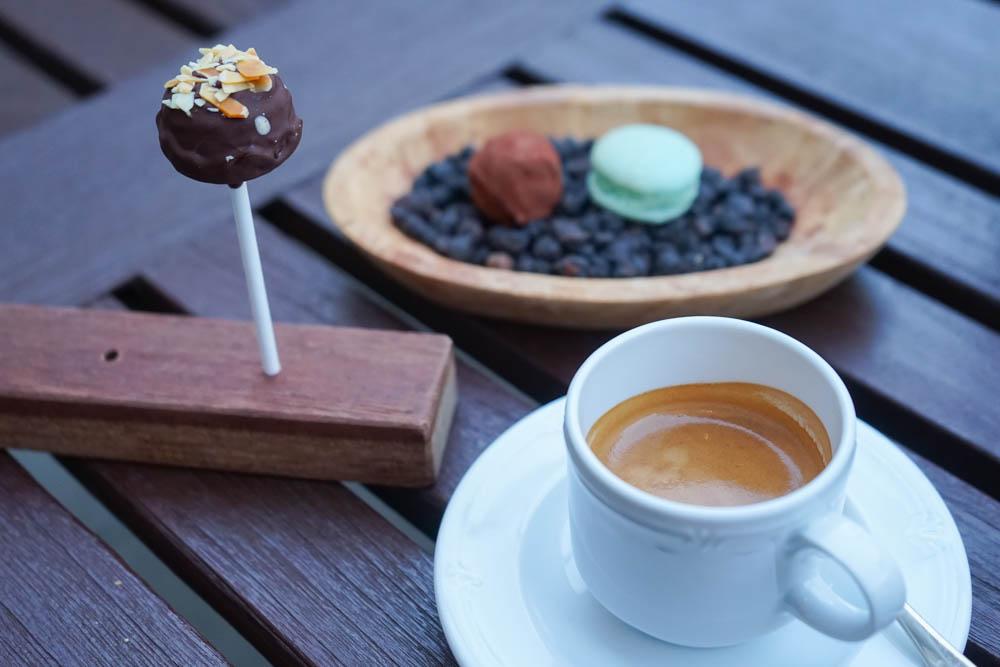 Restaurant Florhof, Zürich - Kleinigkeiten zum Espresso